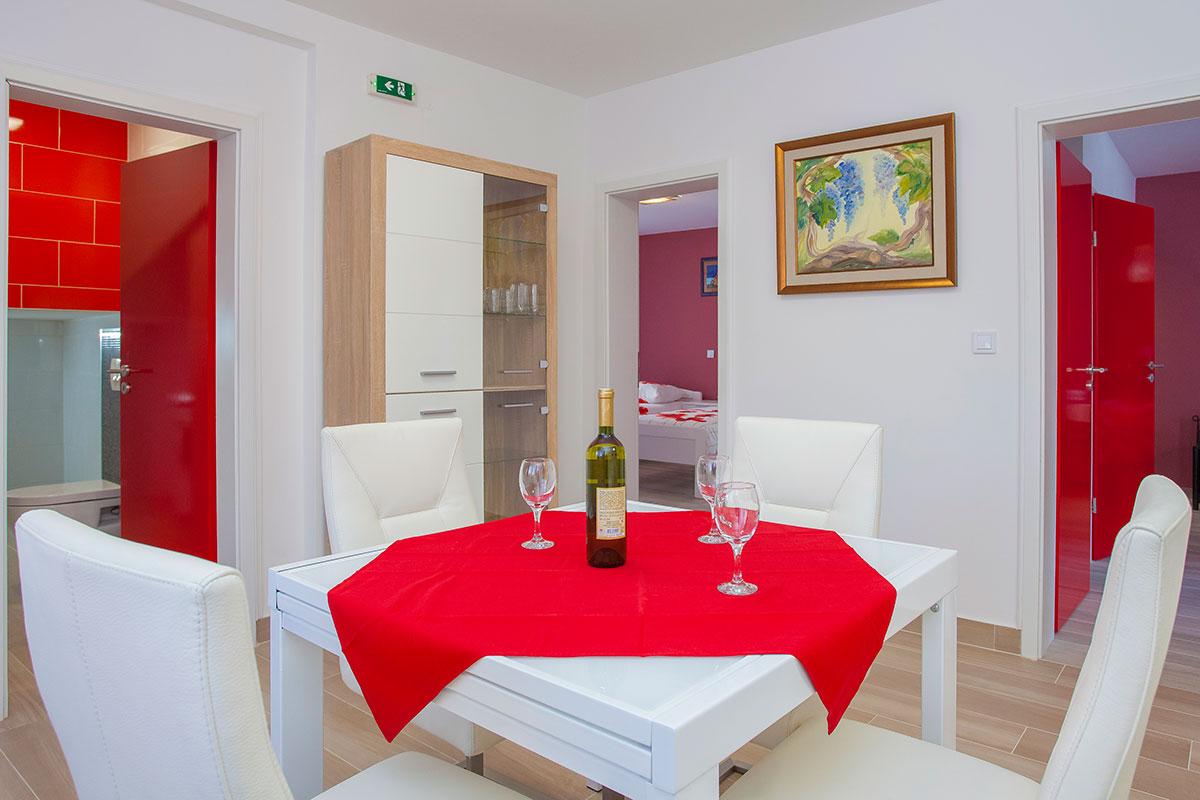 Villa Drinka | Vela Luka | Otok Korčula | Hrvatska - Apartman Red